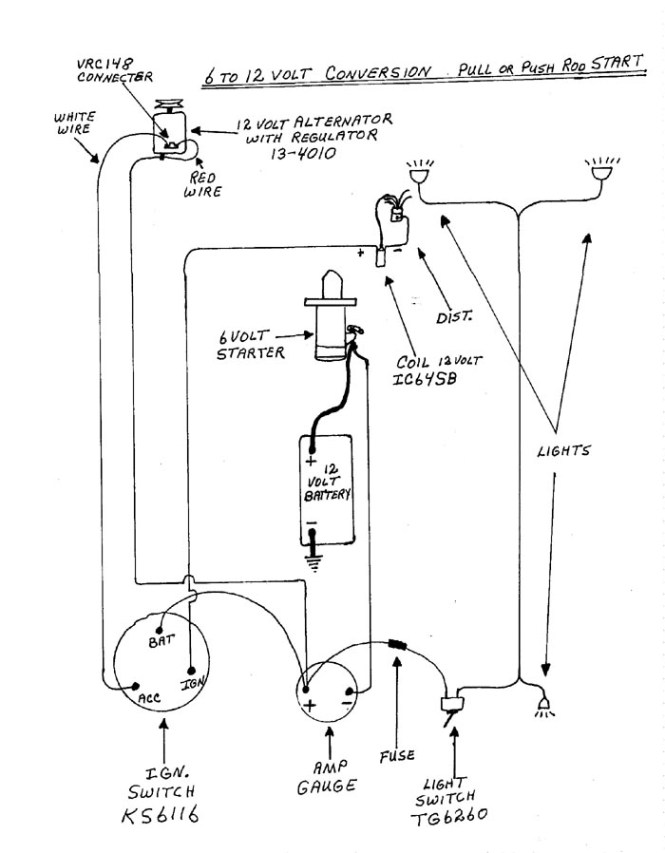 Farmall M 12 Volt Wiring Diagram - Wiring Diagram