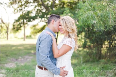 Boerne Texas Hill Country Engagement Session With Pet Dog_0002