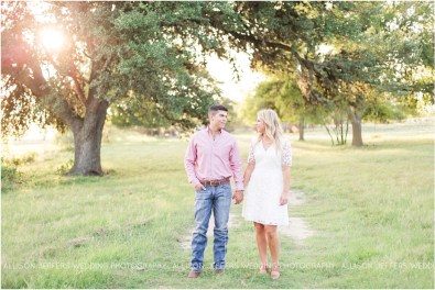 Boerne Texas Hill Country Engagement Session With Pet Dog_0015