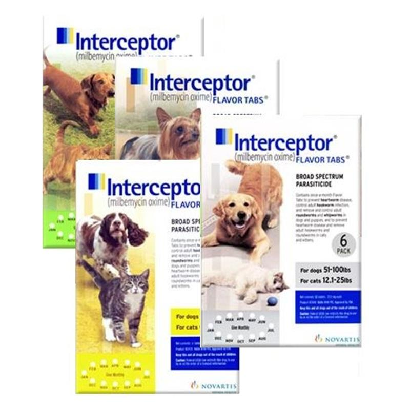 Interceptor For Dogs & Cats | Interceptor Heartworm Medicine