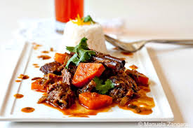 Rooibos Stewed Beef and Sweet Potatoes