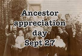 Ancestor Appreciation Day 2014