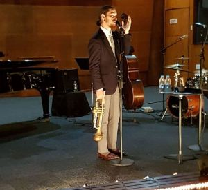 Darren English at SABC Studios 14 Jan 2017; courtesy: Diane Rossi