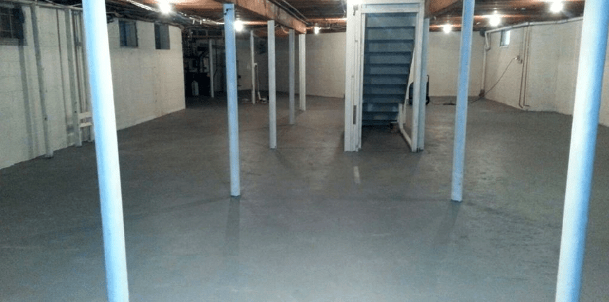 Basement Flood Water Cleanup