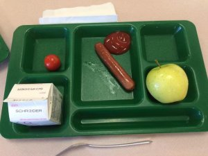 small school lunch