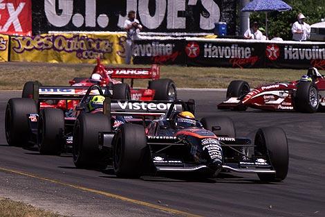 A fase final da carreira de Roberto Moreno se deu nos Estados Unidos, na extinta Champ Car (Foto: F1 Fanatic)