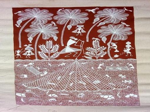 Warli Painting HCMHWP002F