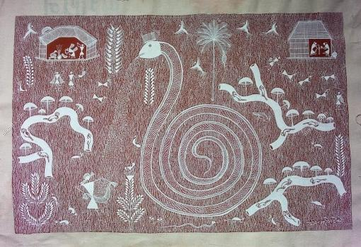 Warli Painting HCMHWP002I