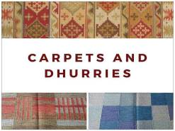 Carpets and Dhurries