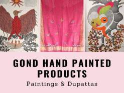 Gond Hand Painted Products