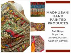 Madhubani Hand Painted Products
