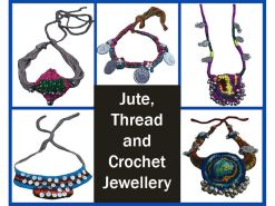 Handcrafted Jute, Thread & Crochet Jewellery