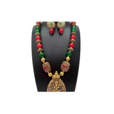 Antique and Glass Beads Jewellery Set