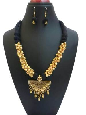 Antique Ghungroo Beads Jewellery Set