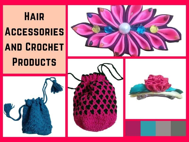 Hair Accessories and Crochet Products