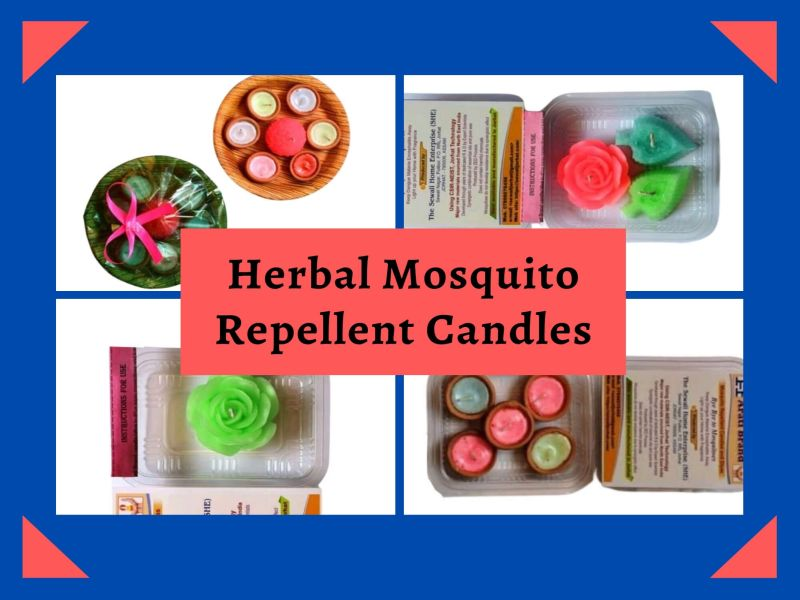 Herbal Mosquito Repellent Candles