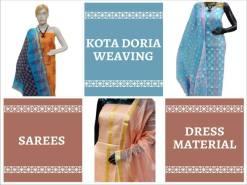 Kota Doria Sarees and Suits