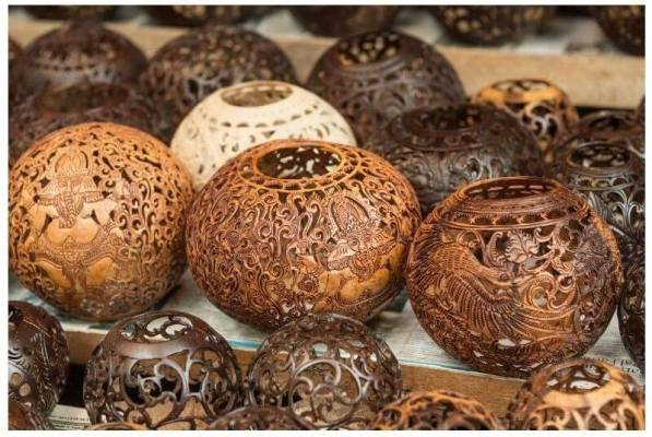 Coconut and Coir Craft