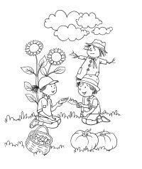 fall coloring pages print fall pictures to color all kids network