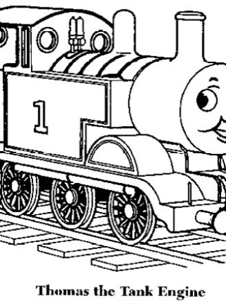 Thomas The Train Coloring Page Thomas The Train Coloring All Kids Network