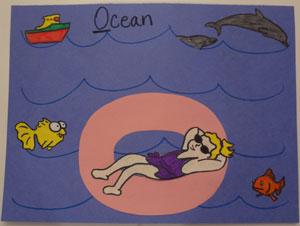 Letter O Ocean Craft All Kids Network