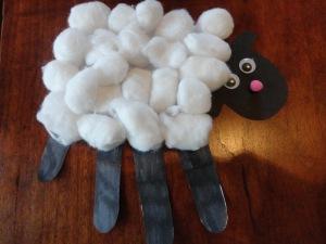Psalms 23 Handprint Sheep Craft All Kids Network