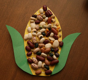 indian corn craft