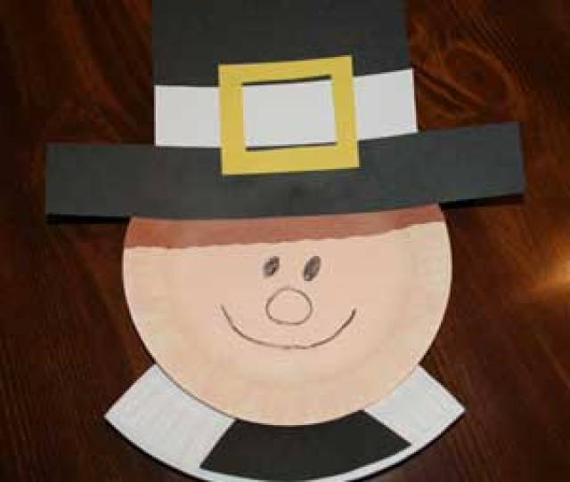 Paper Plate Pilgrim Crafts All Kids Network