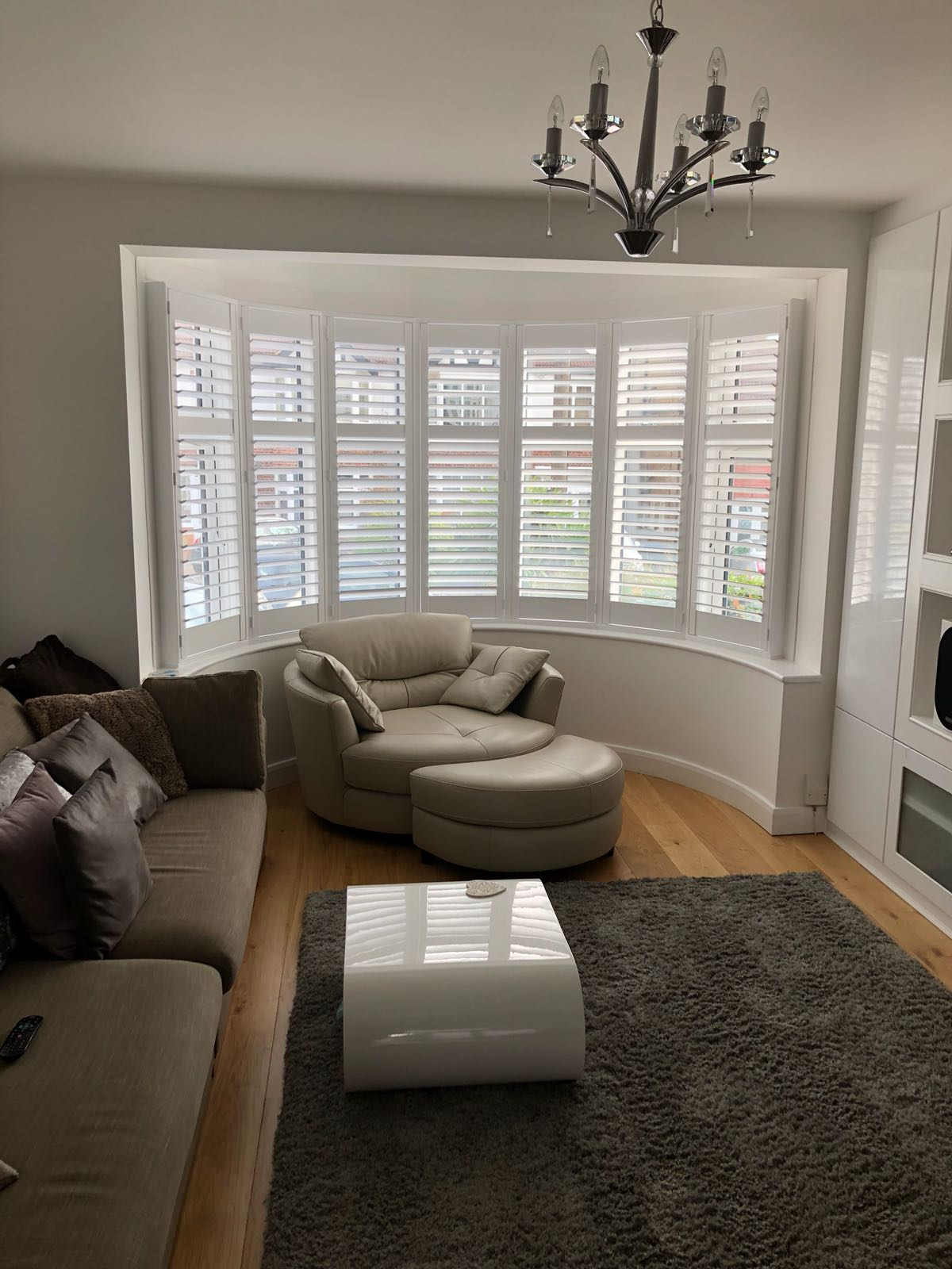 Bay Window Shutters North London