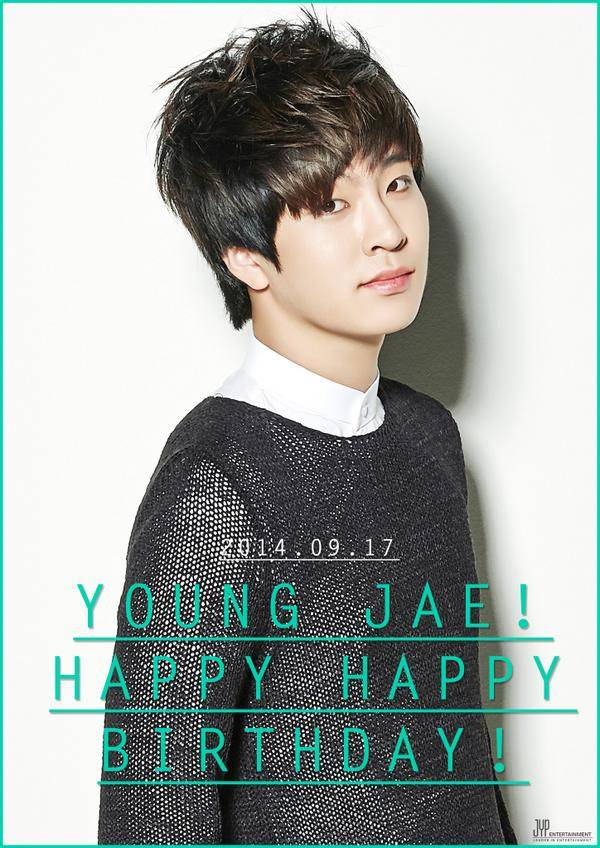 JYP Entertainment Wishes GOT7s Youngjae Happy Birthday