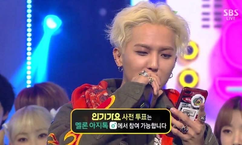 WINNER's Song Min Ho raps 'Inkigayo' win acceptance speech off