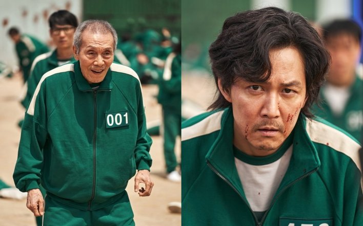 one youtuber analyzes why the grandpa might be the main character's father in 'squid game'   allkpop