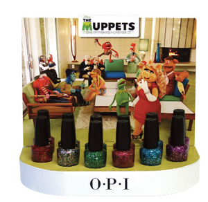 opi muppets holiday 2011 collection OPI Holiday 2011   THE MUPPETS Preview