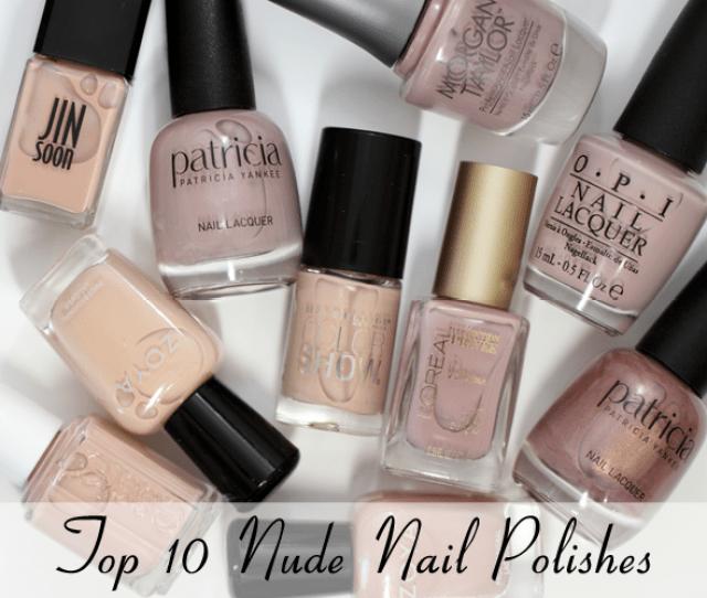 Top  Best Nude Nail Polish Shades