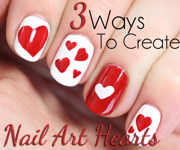 Valentine Nail Art Ideas Cupcakes For S Cute And Cool Looks Valentines Day