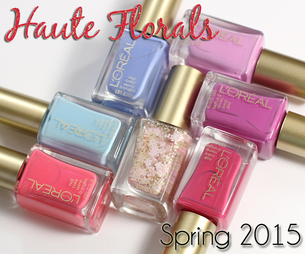 L Oreal Spring 2017 Nail Polish Haute Fls Review Via Alllacqueredup