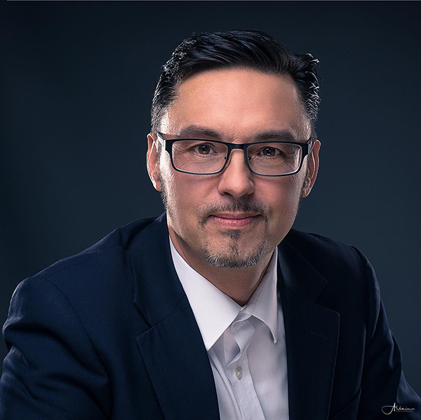 Bürgermeisterkandidat Andreé Reschke Allmie Studiofotografie Bernau