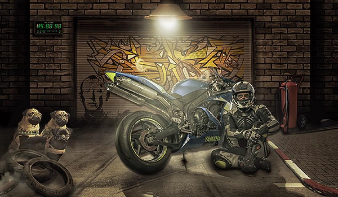Motorrad Composing R1 Community Allmie