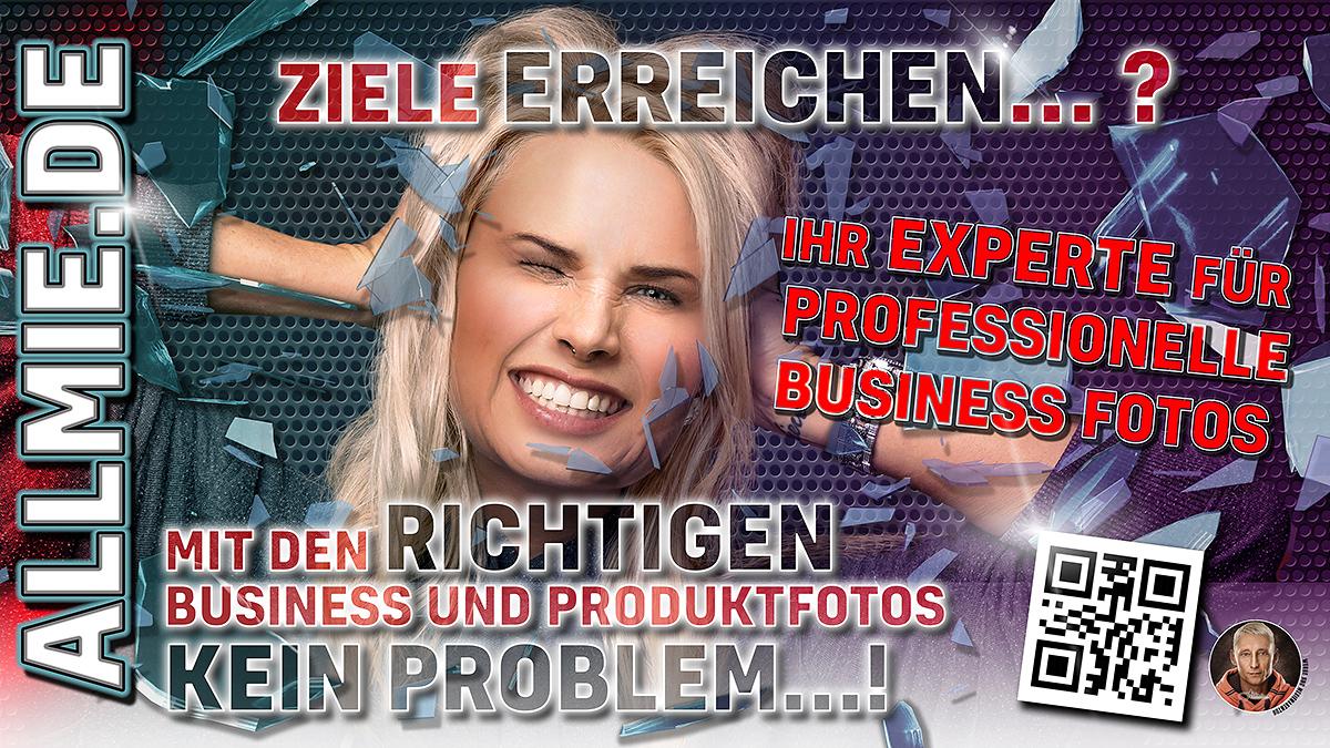 Werbebanner mit Anne Allmie Fotografie Bernau bei Berlin