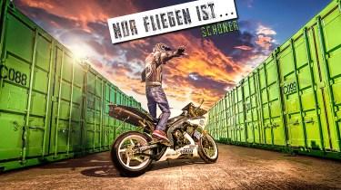Motorrad Composing Yamaha R1 Allmie Bärbel