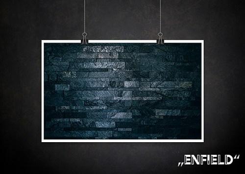 Backdrop Enfield black Stein Textur für Fotografen Allmie