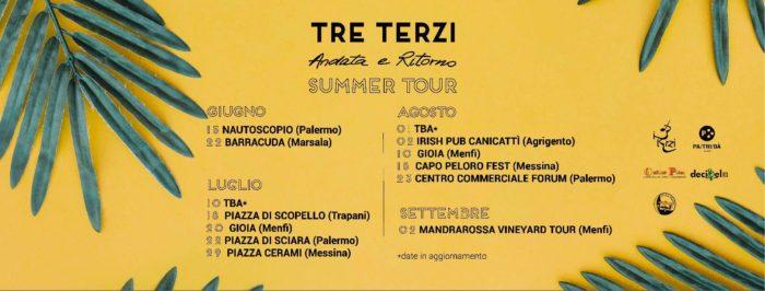 tre terzi summer tour