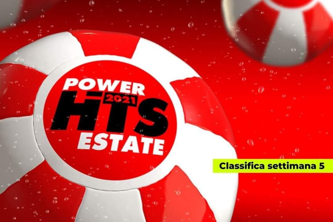 Power Hits Estate 2021 settimana 5: Marco Mengoni primo per la quarta volta consecutiva