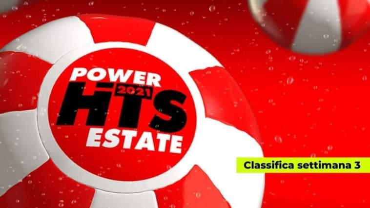 Power Hits Estate 2021: nella terza settimana è ancora Marco Mengoni in vetta