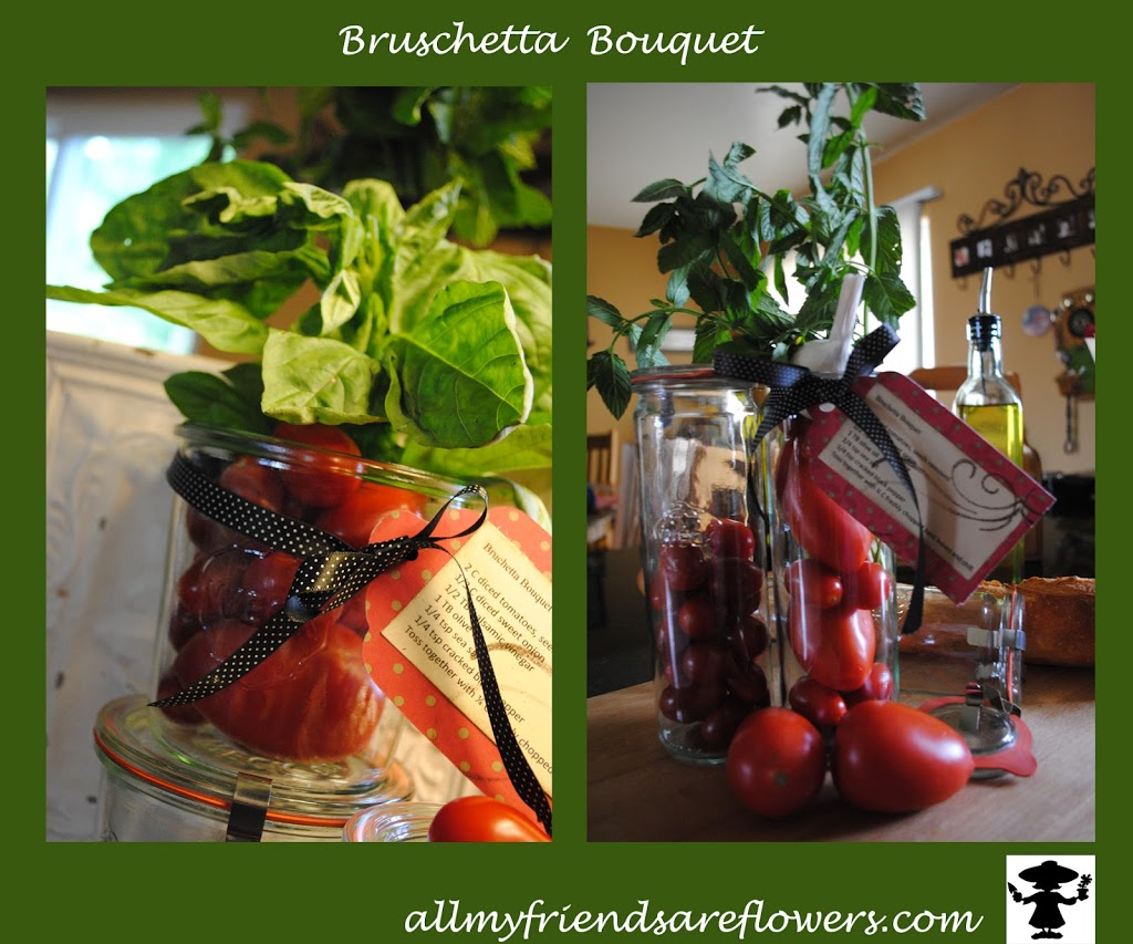 Bruschetta Bouquet allmyfriendsareflowers.com