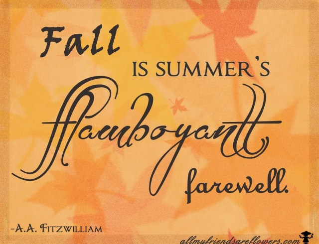 fall quotes, quotes about fall, allmyfriendsareflowers.com