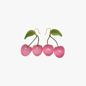 cherry earrings summer fashion