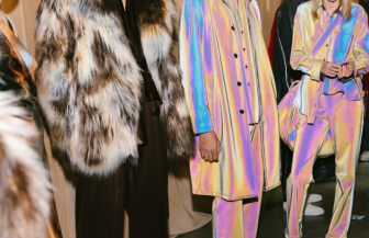 fashion week backstage