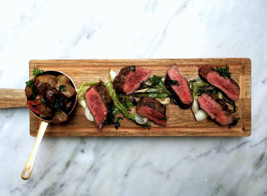 Margaux, Grass-Fed Bavette Steak