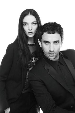 Mariacarla and Riccardo Tisci